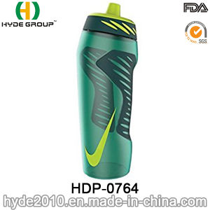 600ml Portable BPA Free Plastic Sports Bottle, Running Plastic Sports Water Bottle (HDP-0764) pictures & photos