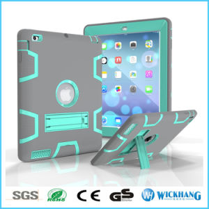 Hybrid Shockproof Heavy Rubber Stand Case for Apple iPad Samsung Galaxy Tab pictures & photos