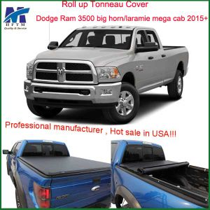 Top Quality Custom Rolling Tonneau Cover for Dodge RAM 3500 Big Horn Laramie Mega Cab 2015+ pictures & photos