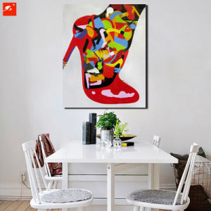 New Modern High Heel Red Fashion Canvas Oil Painting pictures & photos