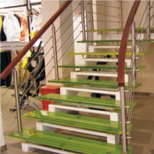 Ss316/304 High Quality Cutomized Satin Railing Balustrade pictures & photos