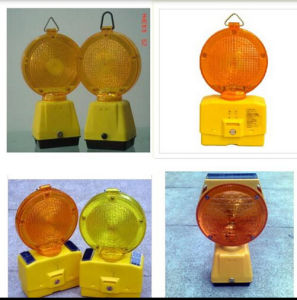 Hight Quality Solar Powered LED Safety Warning with Ce pictures & photos