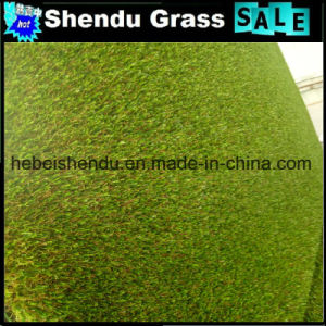 Plastic Grass 25mm with Green Color for Decoration pictures & photos