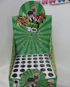 Corrugated Wax Flute Folding Display Box pictures & photos