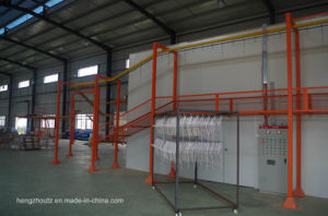 High Performance Powder Spray Coating Line for Oil Tank pictures & photos
