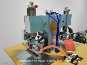 Hydraulic Double Shoe Upper Radio Frequency Embossing Machine pictures & photos
