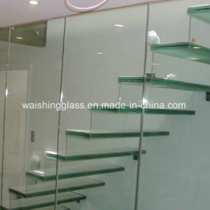 16.38mm Laminated Safety Glass for Stairs with Igcc / ISO9001 / CCC pictures & photos