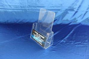 Customize Clear Desktop Acrylic Display Menu Stand Holder pictures & photos