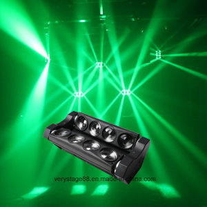 New Spider 8 Eye Bar 8*10W Full Color LED Spider Beam Moving Head Light pictures & photos