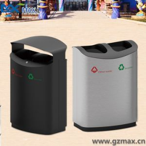 Stainless Steel Airtight Trash Can, Classified Garbage Bin pictures & photos