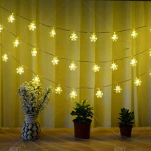 Manufactory Outdoor LED String Curtain Light Decoration Residential Christmas Decorating pictures & photos