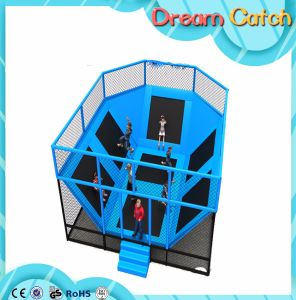 2017 Hot Sale Bungee Jumping Trampoline for Kids Amusement Park pictures & photos