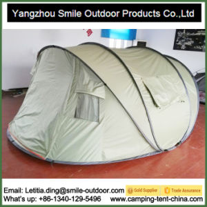 4 Person Double Layers One Touch Pop up Camping Tent pictures & photos