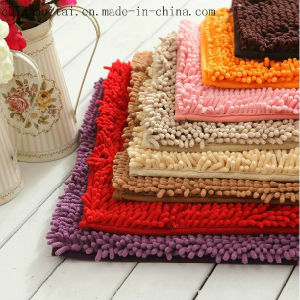 Polyester Long Pile Chenille High Quality Shape Floor Mat pictures & photos