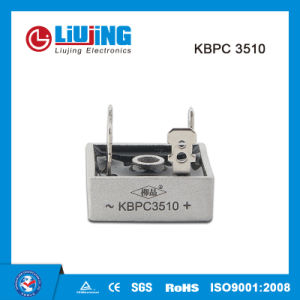 Kbpc3510 35A 1000V Single Phase Bridge Rectifiers pictures & photos