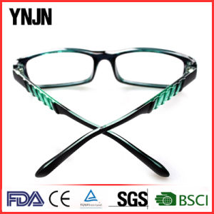 Ynjn High Quality Personality Green PC Glasses of Reading pictures & photos