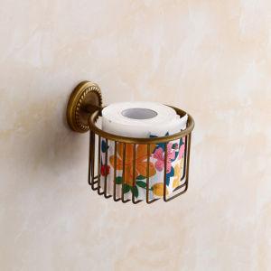 Flg Antique Brass Bath Toilet Paper Holder Bathroom Fitting pictures & photos