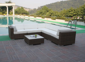 Garden Outdoor Rattan Wicker Sofa Set pictures & photos