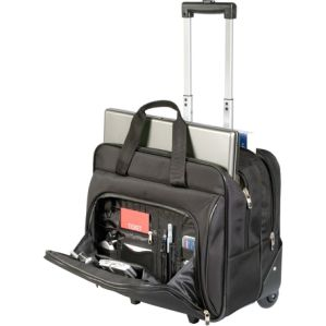Black Executive Roller Bag Wheels Computer/Laptop Waterproof Trolley Travel Bag pictures & photos