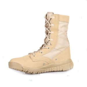 Military Tactical Desert Boots/Army Combat Boots pictures & photos