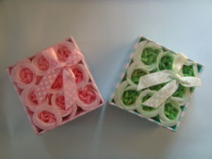 Paper Rose Soap Flower pictures & photos