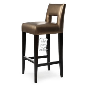 High Class Distinctive Wooden Bar Chairs pictures & photos