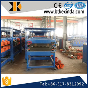 Kxd Galvanized Sheet EPS and Rock Wool Sandwich Panel Roll Forming Machine pictures & photos