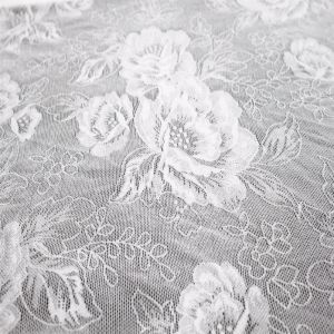 Wholesale Nylon Polyester Spandex Blend Net Textile Lace Fabric