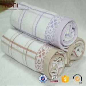 Hot Selling Cotton Stripes Towel 100% Cotton Cheap Price Bath Towel pictures & photos