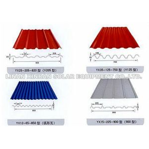Metal Steel Corrugated Roofing Sheets Roll Forming Machine pictures & photos