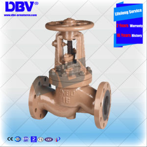 Industrial Rubber Seated Globe Valve with Ce Approval