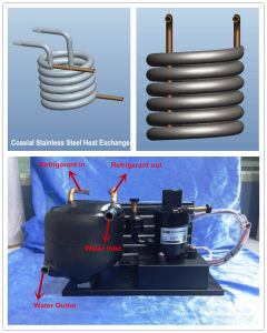Compact and Portable Cooling Equipment for Small Evaporator Refrigeration System and Physical Medical Device Cooling pictures & photos