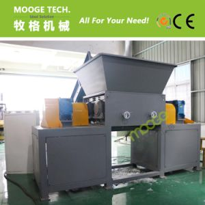 Plastic film double single shaft shredder machine pictures & photos