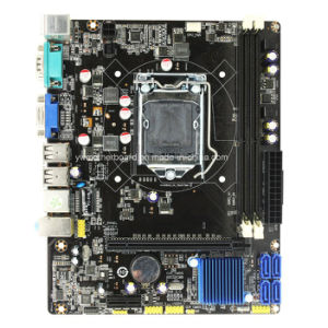 Micro ATX H61 Chipset 1155 Socket Support 2*DDR3 Motherboard pictures & photos