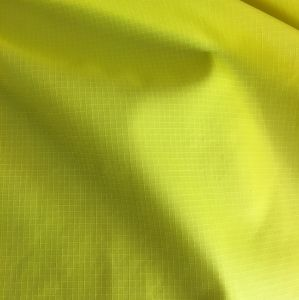 0.15cm 100% Nylon Full Dull Taffeta Ripstop Fabric with Downproof PU Coating for Jackets pictures & photos