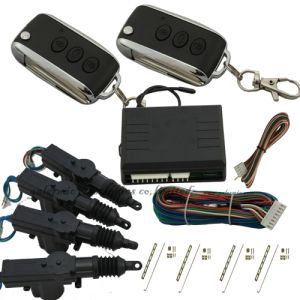 Filp Key Remote Control Car Central Locking Kit with Direction Light Output
