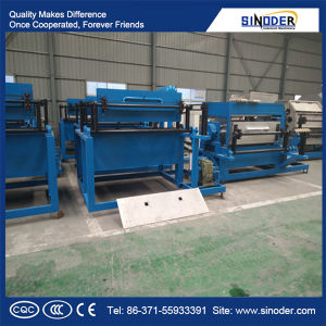 Waste Paper Pulp Molding and Egg Tray Egg Carton Forming Machine /Fruit Tray Making Machine pictures & photos