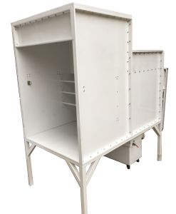 Small Batch Powder Coating Booth Equipment pictures & photos