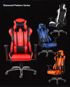 Adjustable New Design High Back Wcg Gaming Chair pictures & photos