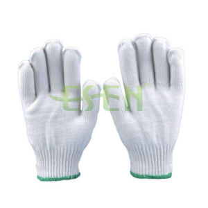 High Quality Cotton Construction Gloves /White Gloves Manufacturer in China pictures & photos