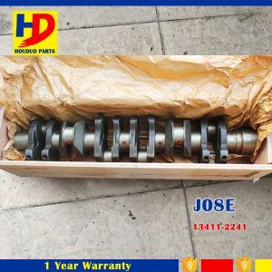 OEM Forging J08E Crankshaft for Diesel Engine Set (13411-2241) pictures & photos