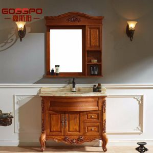 Classic Wood Bathroom Vanities with Wash Basin (GSP9-012) pictures & photos