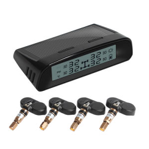 Adjustable Tire Pressure Alert Value Solar and USB Charging TPMS pictures & photos