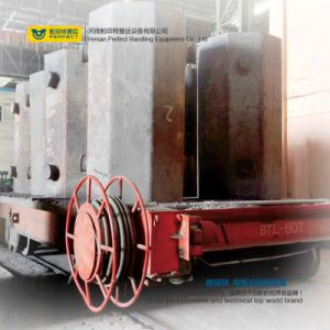 Heat Resistant Motorized Ladle Material Transfer Cart Equipment pictures & photos