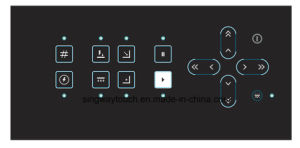 Customized LED Windows Embossed Membrane Switch with LEDs pictures & photos