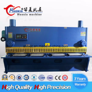 Hydraulic Guillotine Shearing Machine Cutting Steel Plate pictures & photos
