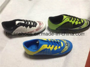Children Soccer Shoes Football Sports Shoes (FFSC1111-02) pictures & photos