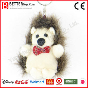 Stuffed Animal Hedgehog Plush Keyring Toy pictures & photos