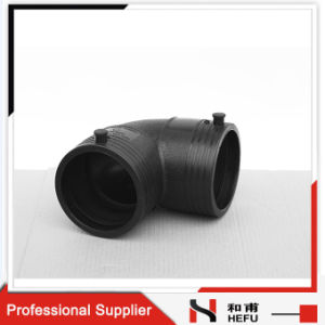 90 Degree Weldable Plastic Waste Pipe Elbow pictures & photos