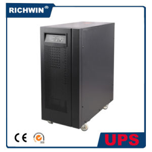 Hot 6kVA~10kVA, High Frequency Online UPS with Pure Sine Wave Output and Battery Inbuilt pictures & photos